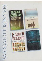 Echo park / A sziget / Dr. Devon és a szerelem / Árnyékbúvárok - Titchmarsh, Alan, Kurson, Robert, Michael Connelly, Victoria Hislop - Régikönyvek