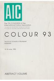 COLOUR 93 - Több szerző - Régikönyvek