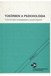 Tükörben a pszichológia - Halász Gábor - Régikönyvek
