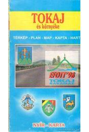 Tokaj és környéke térkép - Régikönyvek