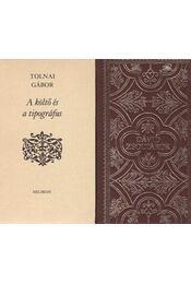 Dávid zsoltárok / A költő és tipográfus (mini) - Tolnai Gábor - Régikönyvek