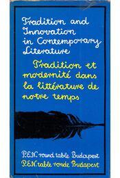 Tradition and Innovation in Contemporary Literature - Régikönyvek
