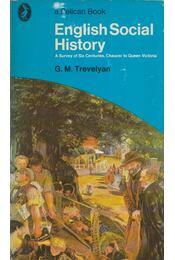 English Social History - TREVELYAN, G.M. - Régikönyvek