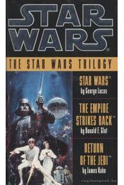 The Star Wars trilogy - Donald F. Glut, James Kahn, George Lucas - Régikönyvek