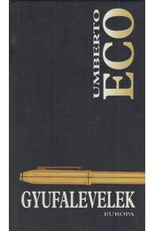 Gyufalevelek - Umberto Eco - Régikönyvek