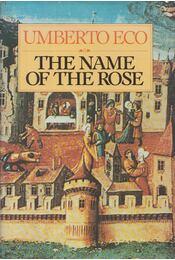 The Name of the Rose - Umberto Eco - Régikönyvek