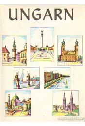 Ungarn Map - Régikönyvek