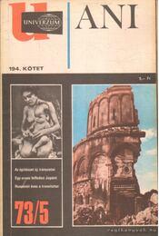 Univerzum 73/5 - Ani - Régikönyvek