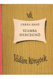 Szamba hercegnő - Urbán Ernő - Régikönyvek