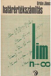 Határértékszámítás - Urbán János - Régikönyvek