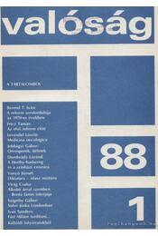 Valóság 1988. XXXI. évfolyam - Régikönyvek