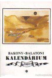 Bakony-balatoni kalendárium 1993 - Varga Béla - Régikönyvek