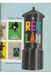 A reklám - Varga István - Régikönyvek