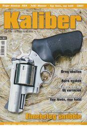 Kaliber 2011. április - Vass Gábor - Régikönyvek