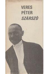 Szárszó - Veres Péter - Régikönyvek