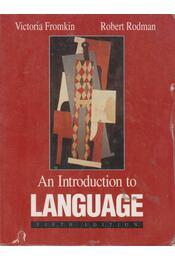 An Introduction to Language - Victoria Fromkin, Robert Rodman - Régikönyvek