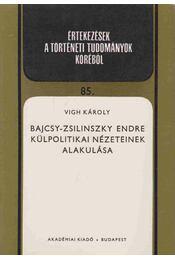 Bajcsy-Zsilinszky Endre külpolitikai nézeteinek alakulása - Vigh Károly - Régikönyvek