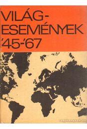 Világesemények '45-'67 - Régikönyvek