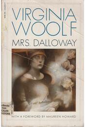 Mrs Dalloway - Virginia Woolf - Régikönyvek