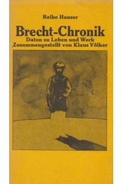 Brecht-Chronik - Völker Klaus - Régikönyvek