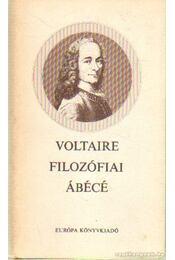 Filozófiai ábécé - Voltaire - Régikönyvek