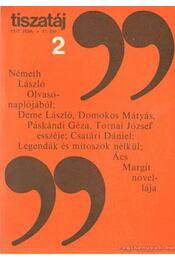 Tiszatáj 1977. február 31. évf. 2. - Vörös László - Régikönyvek