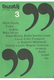 Tiszatáj 1977. március 31. évf. 3. - Vörös László - Régikönyvek