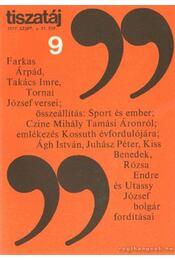 Tiszatáj 1977. szeptember 31. évf. 9. - Vörös László - Régikönyvek