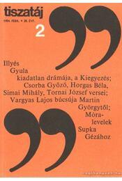 Tiszatáj 1984. február 38. évf. 2. - Vörös László - Régikönyvek