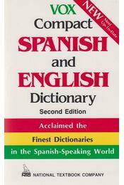 Vox Compact Spanish and English Dictionary - Régikönyvek