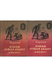 Vihar Itália felett I-II. kötet - Voynich - Régikönyvek