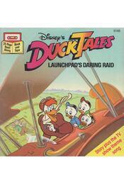 Duck Tales - Launchpad's Daring Raid - Walt Disney - Régikönyvek