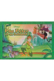 Pán Péter és az indiánok - Walt Disney - Régikönyvek