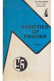 Varieties of Fascism - WEBER, EUGEN - Régikönyvek