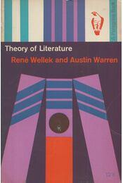 Theory of Literature - WELLEK, RENE - WARREN, AUSTIN - Régikönyvek