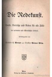 Der schriftliche Werther und die Redekunst in jeder Lebenslange - Werner, R. - Régikönyvek