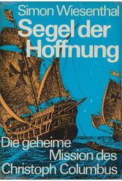 Segel der Hoffnung - Wiesenthal, Simon - Régikönyvek