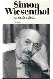 Az igazság malmai... - Wiesenthal,Simon - Régikönyvek