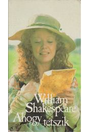 Ahogy tetszik - William Shakespeare - Régikönyvek