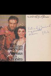 Antonius és Kleopátra (Vas István által dedikált) - William Shakespeare - Régikönyvek