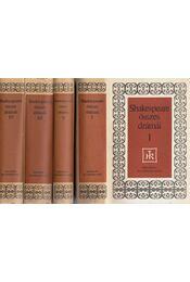 William Shakespeare összes drámái I-IV. - William Shakespeare - Régikönyvek