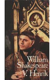 V. Henrik - William Shakespeare - Régikönyvek