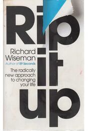 Rip it up - dr. Richard Wiseman - Régikönyvek
