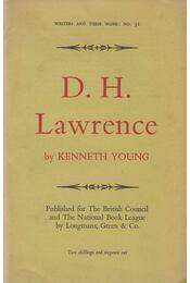 D.H. Lawrence - Young, Kenneth - Régikönyvek