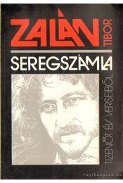 Seregszámla - Zalán Tibor - Régikönyvek