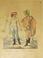 Két falún-lakozó Nemes ember. Zwei Edelleute vom Lande. Kézzel színezett rézmetszet. Bikkessy Heinbucher József (1767–1833) festő rajza után metszette Blaschke és Ponheimer. Készült 1816-ban. - Régikönyvek